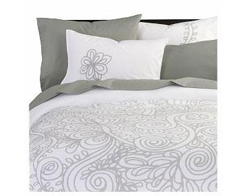 Grey Gardens bed linens, $19.95-89.95.