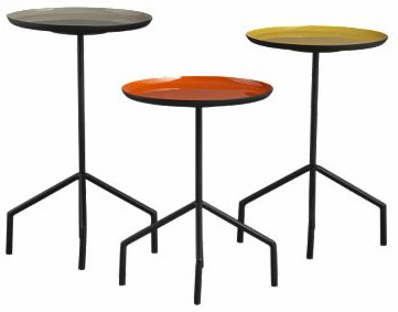 Pablo side tables, set of 3: $129.
