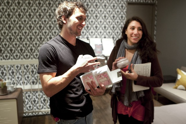 Dan Faires and Nina Ferrer.
