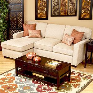 Tivoli Reversible Sectional Sofa, $599.99 (reg. $799.99).