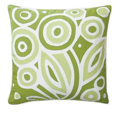 Grass Bloom Pillow, $88.