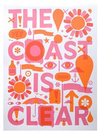 Coast is Clear Artwork, $125.