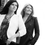 Celebrity moms and PetitNest co-founders Tiffani Thiessen and Lonni Paul.