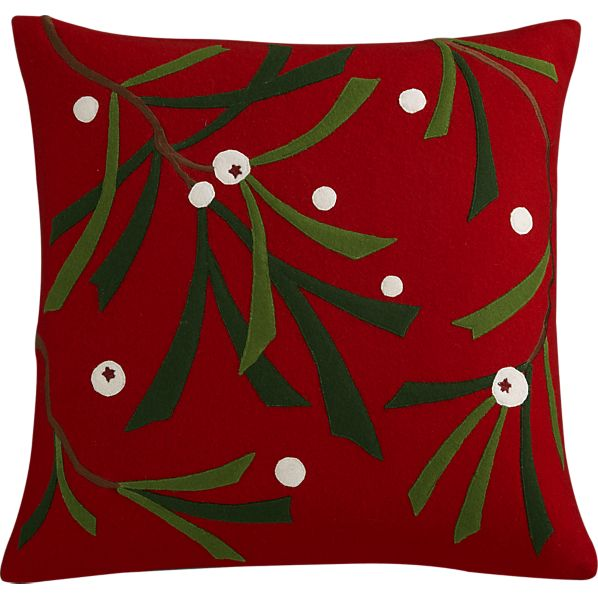 Apine Red Pillow, $34.95.