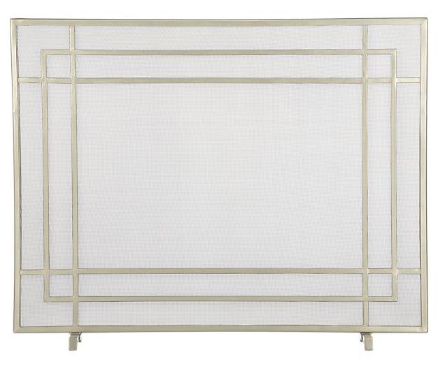 Alton Fireplace Screen, $159.