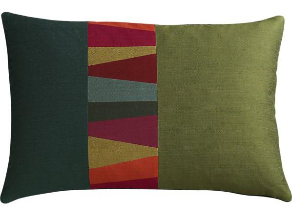 Jewel Emerald Pillow, $26.95.