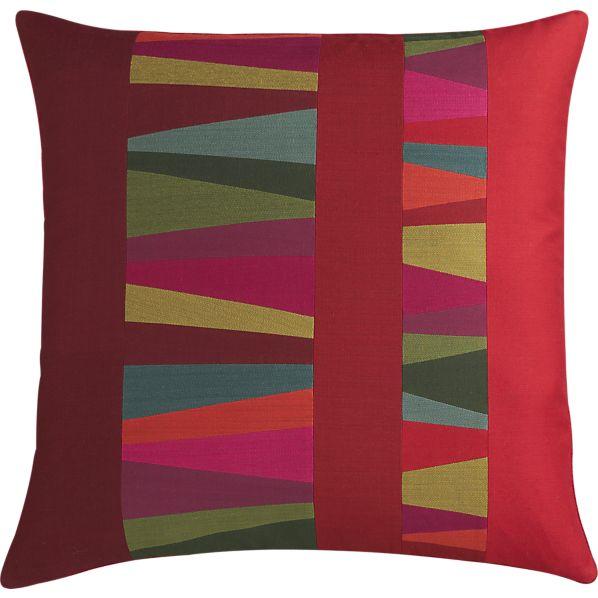 Jewel Ruby Pillow, $29.95.
