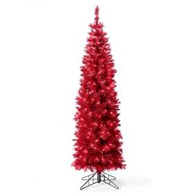 Christmas Brite Tree in Ruby Red, $69-$129.