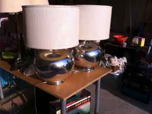 Pair of cute lamps, $65.