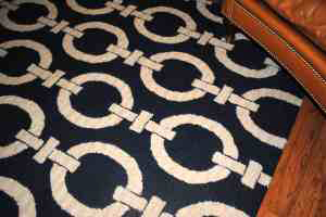 Pottery Barn Links Rug, 8'x10', $250.