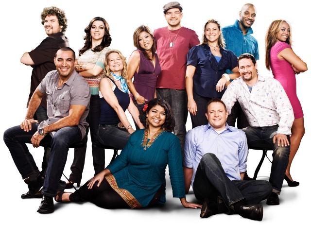 Season 6 NFNS contestants (clockwise, from top left): Tom Pizzica, Serena Palumbo,
