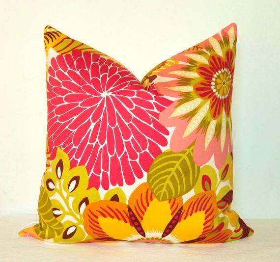 Robert Allen pillow, by Kyoozi.  $35.
