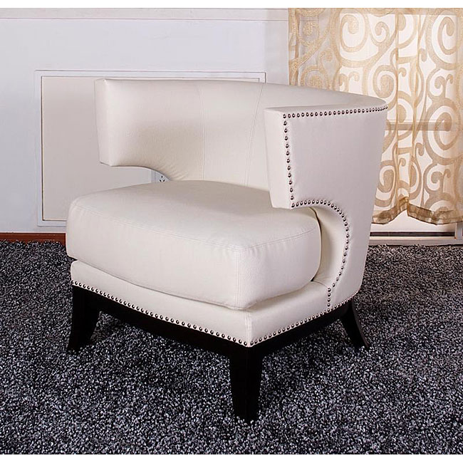 Cream Eclipse Club Chair, from Overstock.  $475.99.
