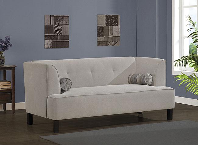 Bone Cape Sofa, from Overstock. $499.95.