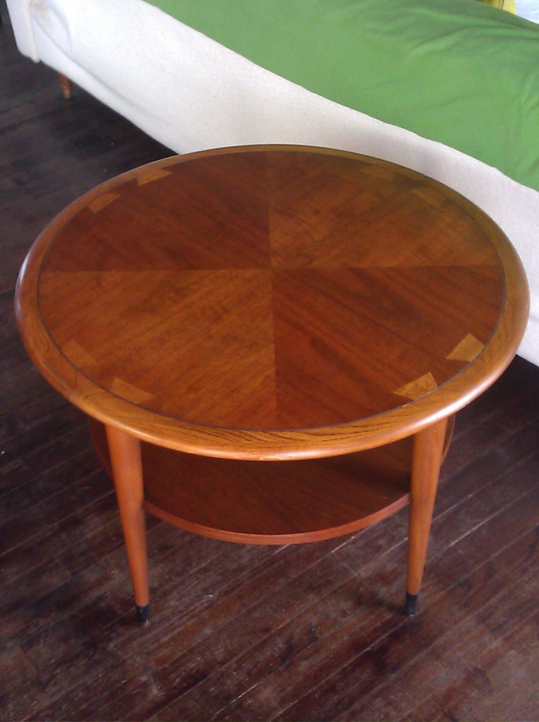 Mid Century Side Table, $115. Looks Great!