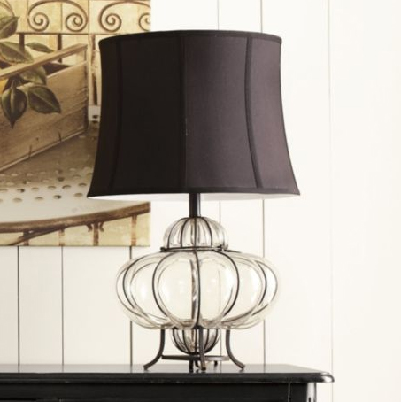 Marakesh Table Lamp, Melon.  $149.