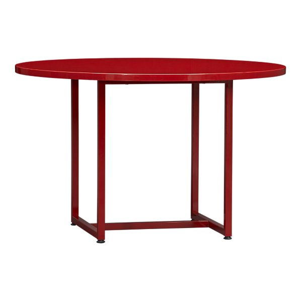 "Walker 48"" Round Dining Table in Cherry, $499."