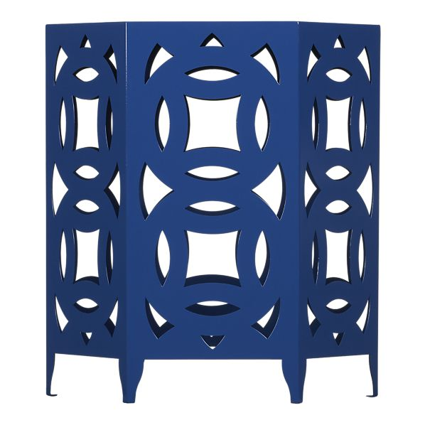 Ginger Side Table in Blue, $299.