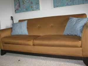 ZGallerie sofa, $275.