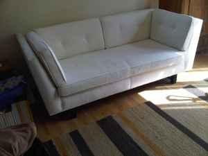 Room & Board sofa, $600.