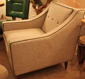 Mid-century lounge chair, $250.