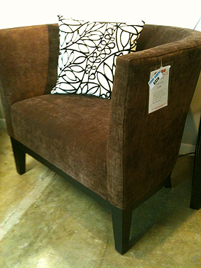 Paolo Chair, $329 (reg. $598)
