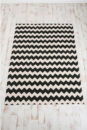 Urban Outfitters' Zigzag Printed Rug, $69.