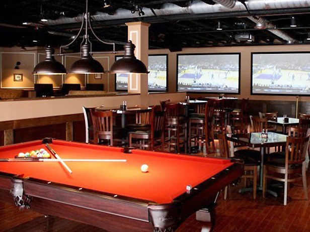 Sports bar designed by Doug Hines.