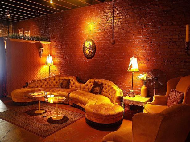 Vintage lounge designed by Doug Hines.