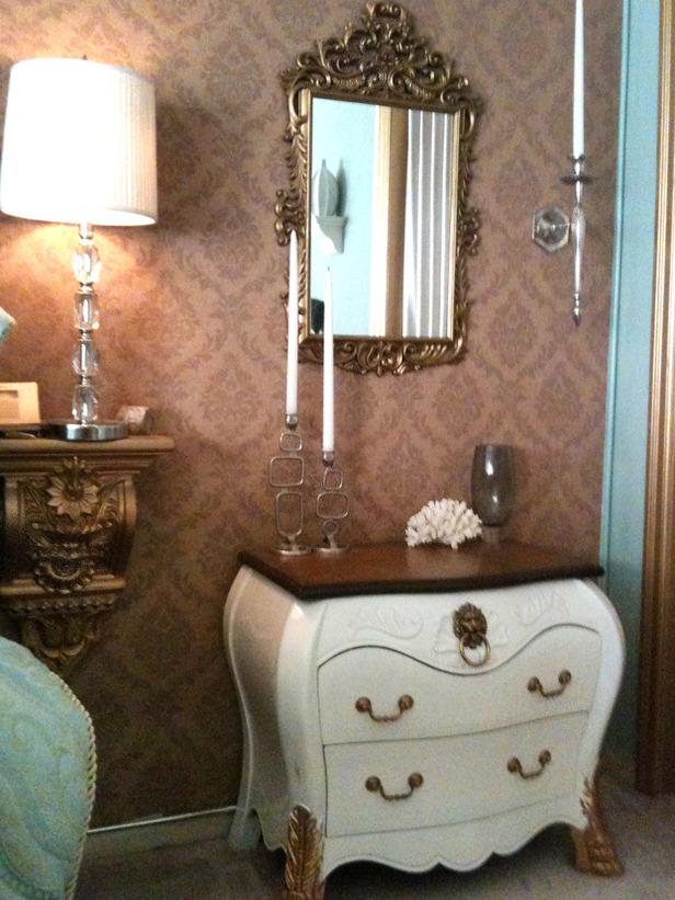 Vintage bedroom designed by Doug Hines.