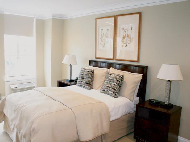 Bedroom designed by Cathy Hobbs.