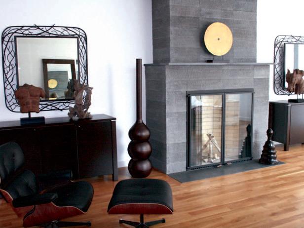 Living room designed by Cathy Hobbs.