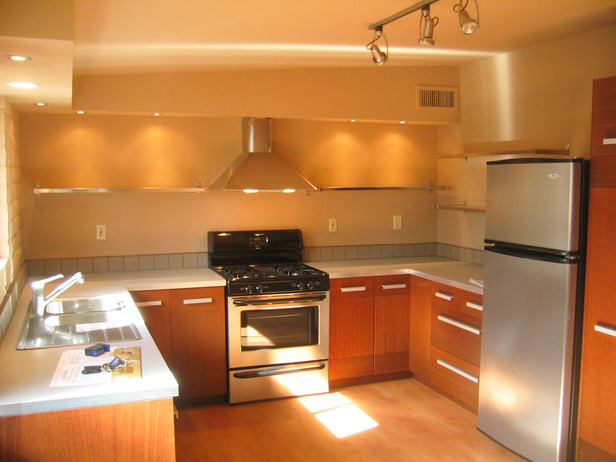 A kitchen design from Bret Ritter's portfolio.