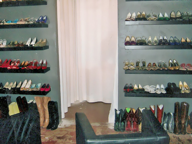 Shoe display, as designed by Bret Ritter (and others).