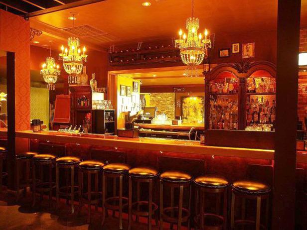 Speakeasy bar designed by Doug Hines.