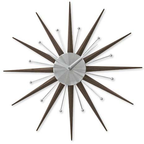 Spike Clock, $54.