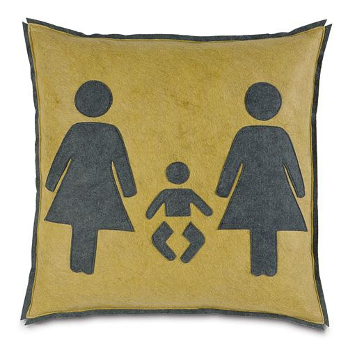 Women with Baby Pillow, $58.
