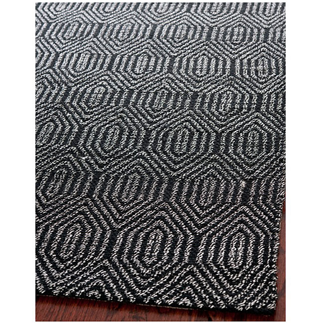Handmade South Hampton Southwest Black Rug (8' x 11'), $304.99.