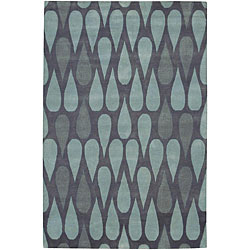 Hand-knotted Garima Wool Rug (7'9 x 10'6), $767.99.