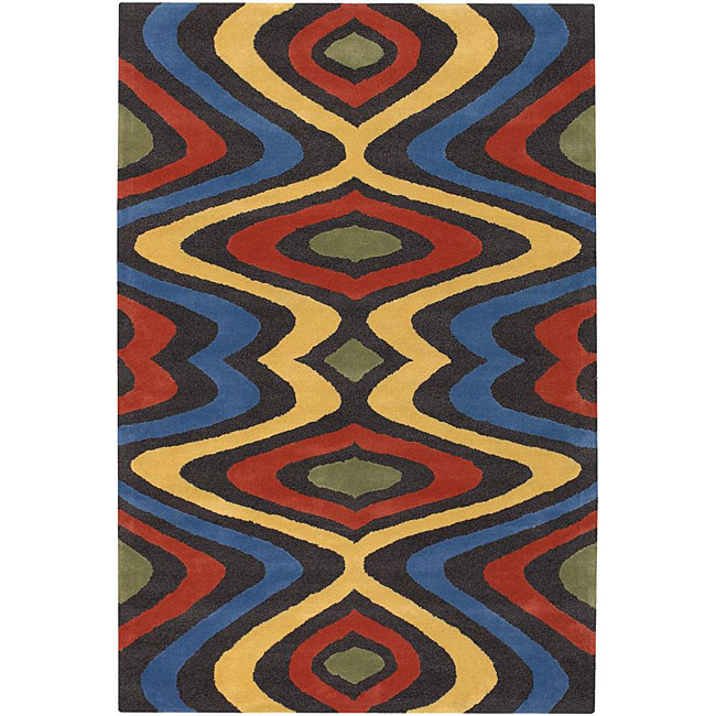 Hand-tufted Erima Multicolor Wool Rug (7'9 x 10'6), $388.99.