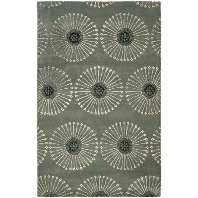 Handmade Zen Grey New Zealand Wool Rug (8'3 x 11'), $510.99.