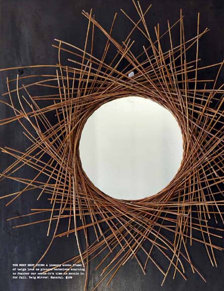Twig Mirror in Natural, $169.