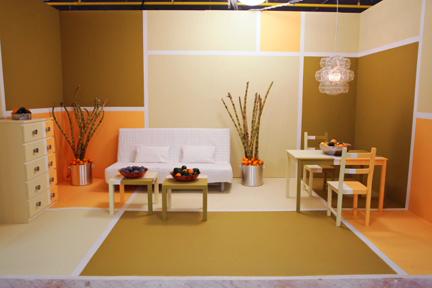 Karl Sponholtz' white room challenge design.