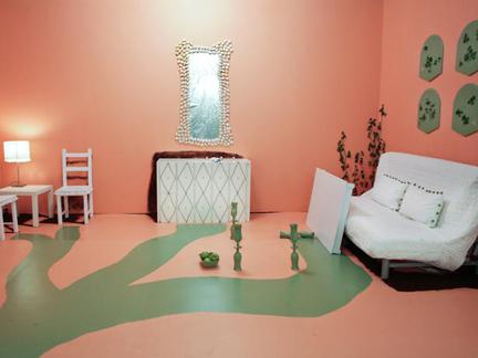Meg Caswell's white room challenge design.