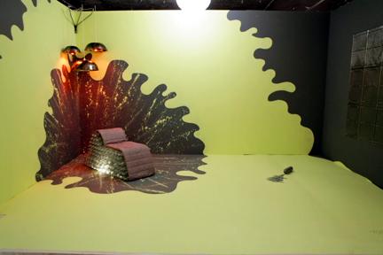Tyler Wisler's white room challenge design.