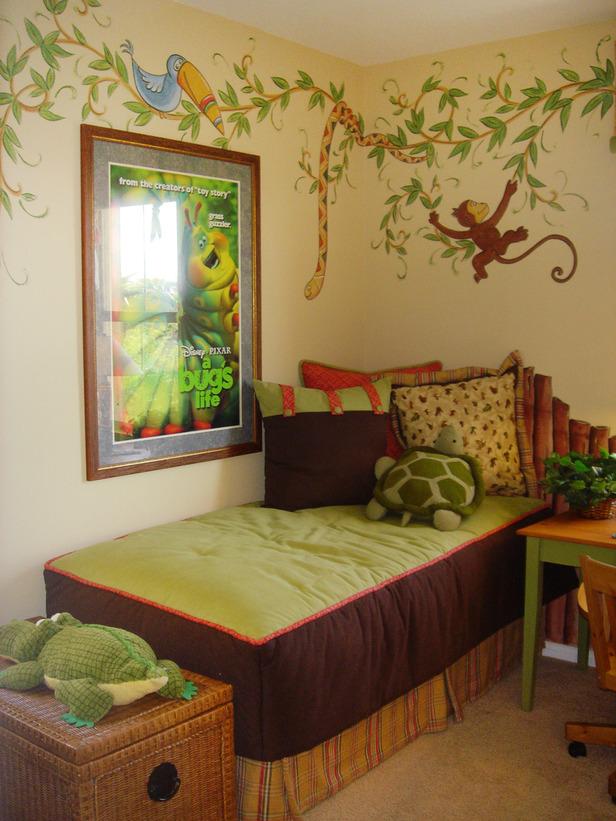 Kid's bedroom designed by J Allen.