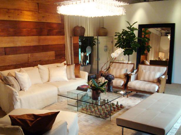Living room designed by J Allen.