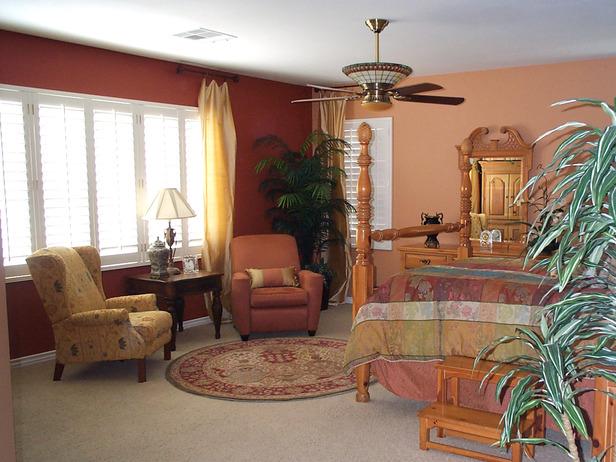 Bedroom designed by J Allen.