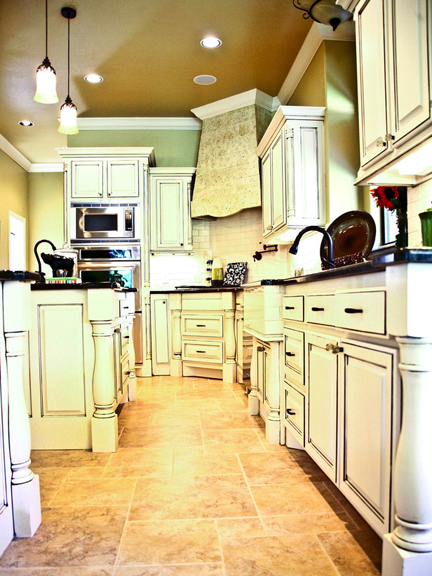 Kitchen designed by Kellie Clements.