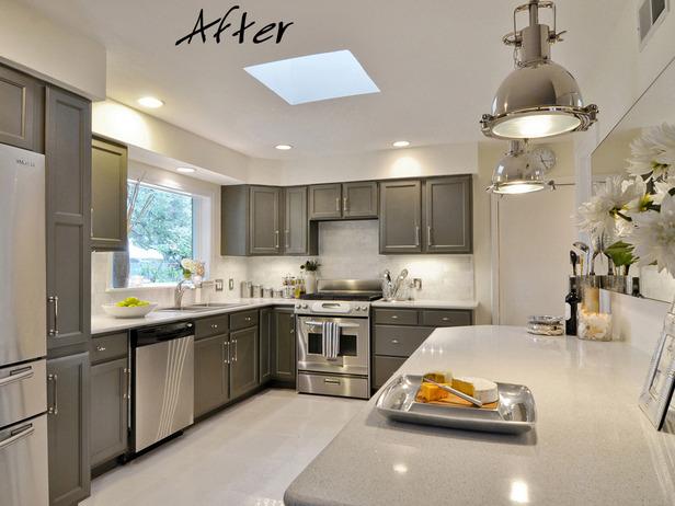 Kitchen designed by Leslie Ezelle.
